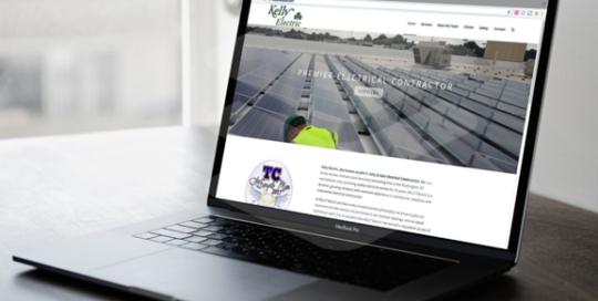 Kelly Electric Website Design