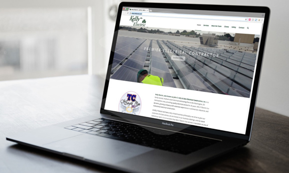 Kelly Electric Website Design