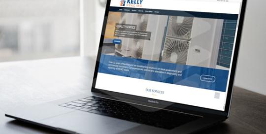 Kelly HVAC Website Design