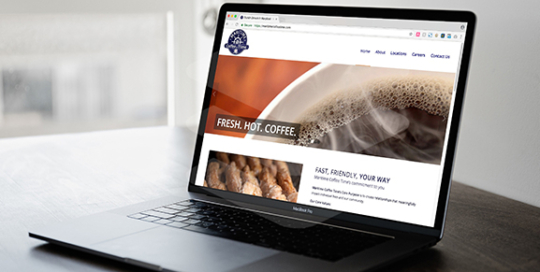 Maritime Coffee Time Website