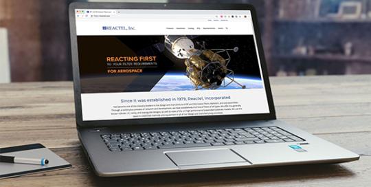 Reactel Website Design
