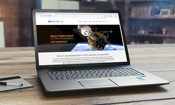 Reactel Website Design
