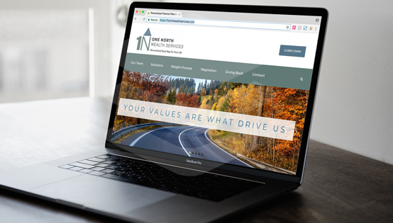 1 North Wealth Services Website