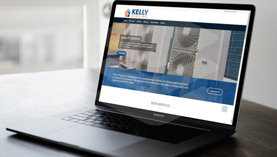Kelly HVAC Website