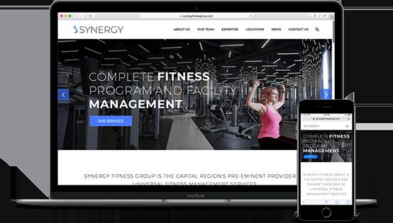 Synergy Fitness Website